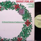 Neustadt, Lisa / Jean Redpath - Shout For Joy Unusual Carols - Vinyl LP Record - Folk Christmas