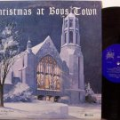 Christmas At Boys Town - Vinyl LP Record - Boys Town Choir Of Nevada
