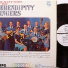 Serendipity Singers, The - Many Sides Of - Vinyl LP Record - White Label Promo - Mono - Folk