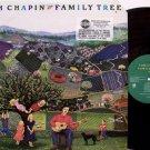 Chapin, Tom - Family Tree- Vinyl LP Record + Insert - Children Kids Folk