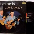 Bud & Travis - In Concert - Vinyl 2 LP Record Set - Folk