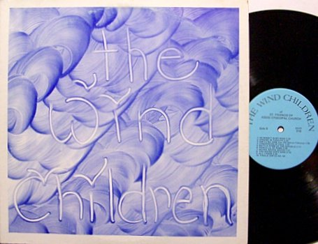 Wind Children, The - Self Titled - Signed -  Vinyl LP Record - Christian Folk Psych