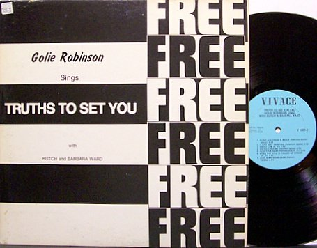 Robinson, Golie - Sings Truth To Set You Free - Vinyl LP Record - IL Christian Folk