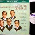 Plainsmen Quartet, The - Softly And Tenderly - Vinyl LP Record - Southern Gospel