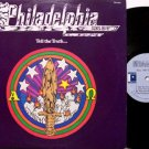 Philadelphia - Tell The Truth - Vinyl LP Record - Original Patmos Pressing - Christian Rock