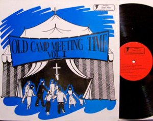 Old Camp Meeting Time - Vinyl LP Record - Various Artists - Country Gospel