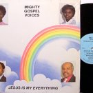 Mighty Gospel Voices - Jesus Is My Everything - Vinyl LP Record - Black Gospel