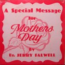 Falwell, Jerry - A Special Message For Mothers Day - Sealed Vinyl LP Record - Christian
