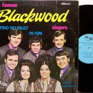 Blackwood Singers, The - I Find No Fault In Him - Vinyl LP Record - Christian Gospel