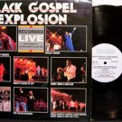 Black Gospel Explosion - Recorded Live - Vinyl 2 LP Record Set