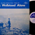 Wellstood, Dick - Alone - Vinyl LP Record + Insert - Jazz