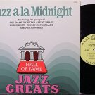 Jazz A La Midnight - Vinyl LP Record - Various Artists - Coleman Hawkins, Jimmy McPartland etc