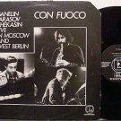 Ganelin Trio - Con Fuoco Live - Vinyl LP Record - Avant Garde Free Jazz