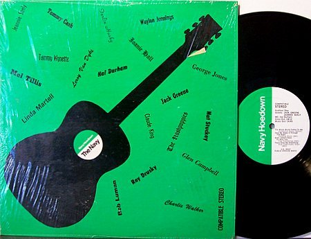 Navy Hoedown Radio Show - Tammy Wynette / George Jones / Jack Greene - Vinyl LP Record - Country