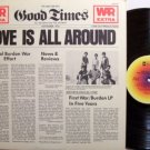 War - Love Is All Around - Vinyl LP Record - R&B Soul Funk