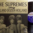 Supremes, The - Sing Holland Dozier Holland - Vinyl LP Record - R&B Soul