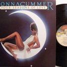 Summer, Donna - Four Seasons Of Love - Vinyl LP Record + Insert - R&B Soul Disco Dance