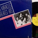 Miracles, The - Greatest Hits - Vinyl LP Record - R&B Soul