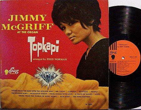 McGriff, Jimmy - Topkapi - Vinyl LP Record - R&B Soul