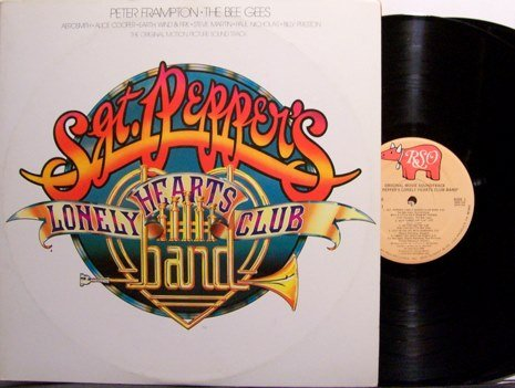 Sgt. Pepper's Lonely Hearts Club Band - Soundtrack - Vinyl 2 LP Record Set - Beatles - OST