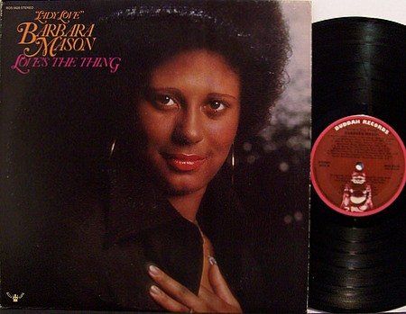 Mason, Barbara - Love's The Thing - Vinyl LP Record - R&B Soul