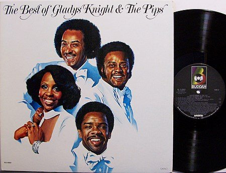 Knight, Gladys & The Pips - The Best Of - Vinyl LP Record - R&B Soul