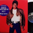 "Jackson, Michael - Beat It / Wanna Be Startin' Somethin' - Japan Vinyl 12"" Single - R&B DJ Dance"