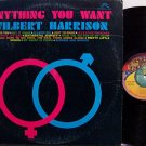 Harrison, Wilbert - Anything You Want - Vinyl LP Record - R&B Soul