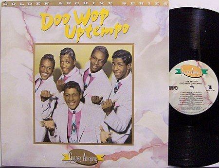 Doo Wop Uptempo - Various Artists - Vinyl LP Record - Rhino Label - R&B Soul