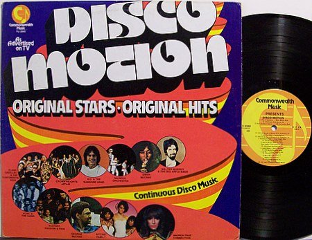 Disco Motion - Vinyl LP Record - Various Artists - DJ Dance