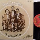 Coasters, The - Greatest Hits - Vinyl LP Record - R&B Soul