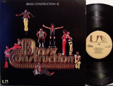 Brass Construction - II / 2 - Vinyl LP Record - R&B Soul
