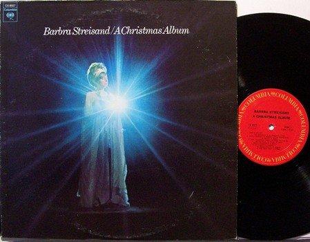 Streisand, Barbra - A Christmas Album - Vinyl LP Record - Barbara - Pop