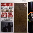 Reed, Jimmy / John Lee Hooker etc - Soul Meeting Saturday Night - Vinyl LP Record - Blues