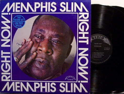 Memphis Slim - Right Now - Vinyl 2 LP Record Set - Blues