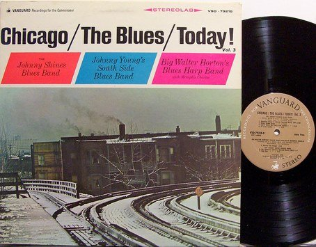Chicago The Blues Today Vol 3 Vinyl Lp Record Johnny