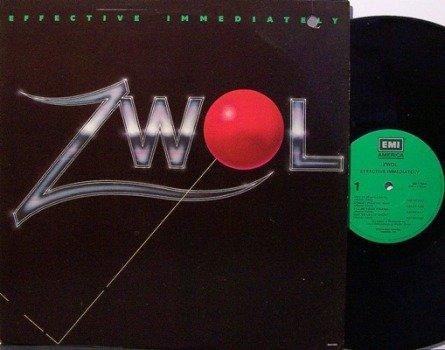 Zwol - Effective Immediately - Vinyl LP Record - Rock