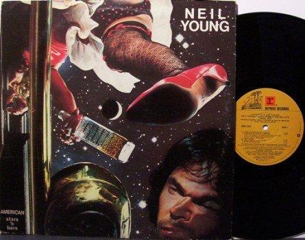 Young, Neil - American Stars 'N Bars - Vinyl LP Record - Rock