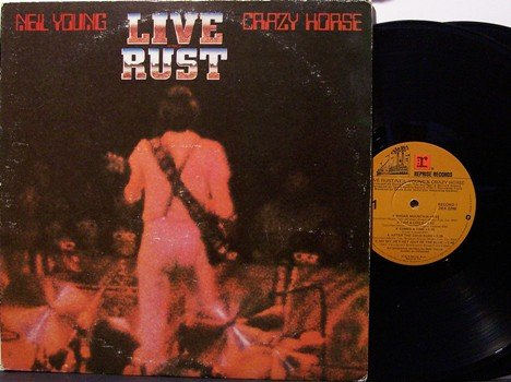 Young, Neil - Live Rust - Vinyl 2 LP Record Set - Rock