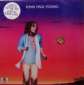 Young, John Paul - Love Is In The Air - Sealed Vinyl LP Record - Pop Rock