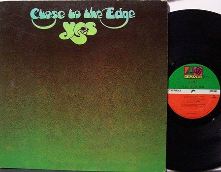 Yes - Close To The Edge - Vinyl LP Record - Rock