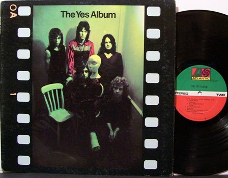 Yes - The Yes Album - Vinyl LP Record - Rock