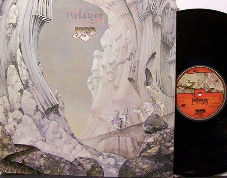 Yes - Relayer - Vinyl LP Record - Rock