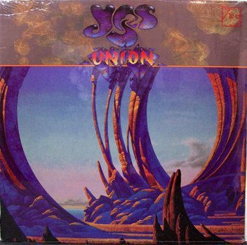 Yes - Union - Sealed Vinyl LP Record - Rock
