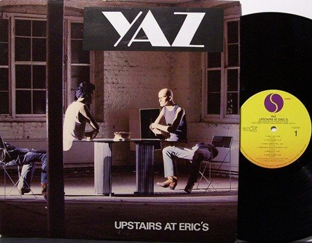 Yaz - Upstairs At Eric's - Vinyl LP Record - Synth Rock