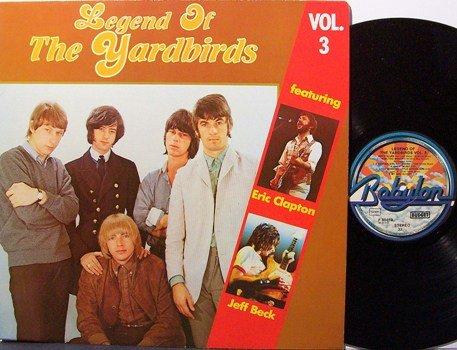 Yardbirds - Legend Of The Yardbirds Vol. 3 - Vinyl LP Record - German Pressing - Rock