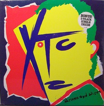 XTC - Drums & Wires - Sealed Vinyl LP Record + Bonus Single - Rock