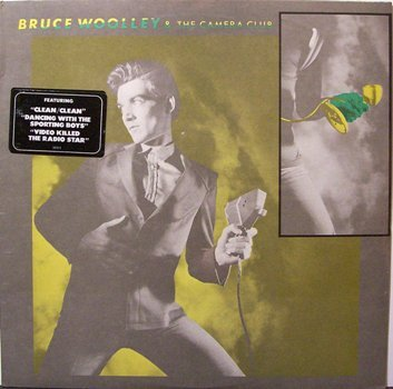 Woolley, Bruce & The Camera Club - Self Titled - Sealed Vinyl LP Record - Rock