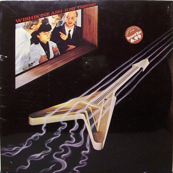 Wishbone Ash - Just Testing - Sealed Vinyl LP Record - Rock