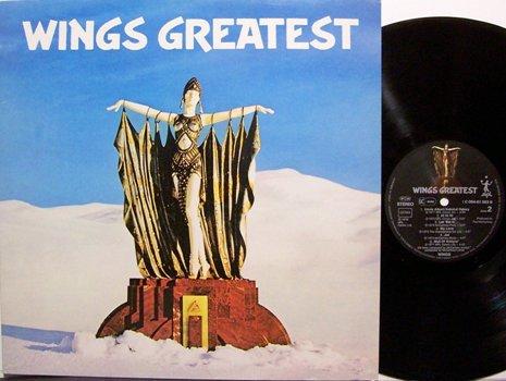 Wings, Paul McCartney And - Wings Greatest - German Pressing - Vinyl LP Record - Rock